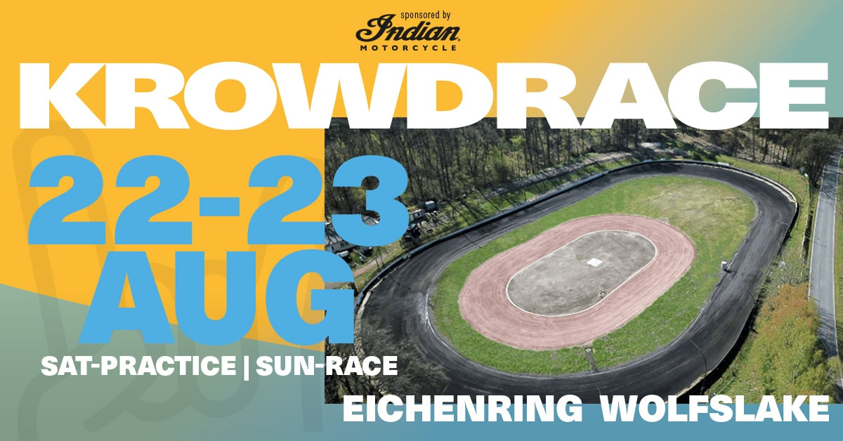 Krowdrace Flat Track Cup 2020 Wolfslake